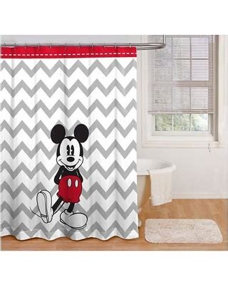 vintage mickey mouse shower curtain amazing deal on mickey mouse shower curtain chevron