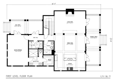 Floor Plans For A 2 Story House by Beach Style House Plan 3 Beds 4 Baths 2383 Sq Ft Plan 443 1