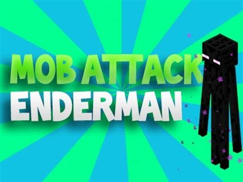 minecraft mob attack! the enderman youtube