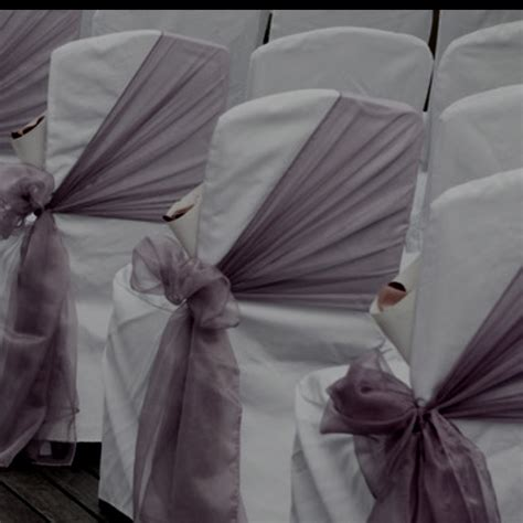 Wedding Chair Bows by