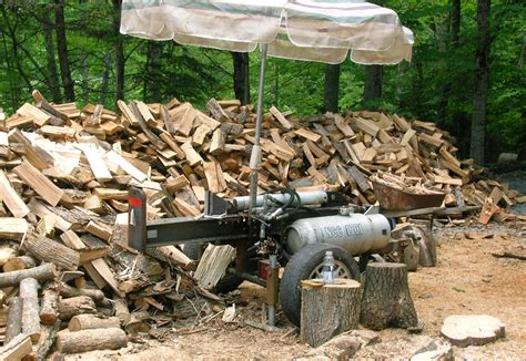 how to build a log splitter free plans log spitter center