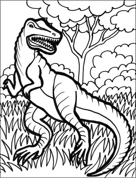 Realistic Dinosaur Coloring Pages Printable Gianfreda Net Printable Coloring Sheets For