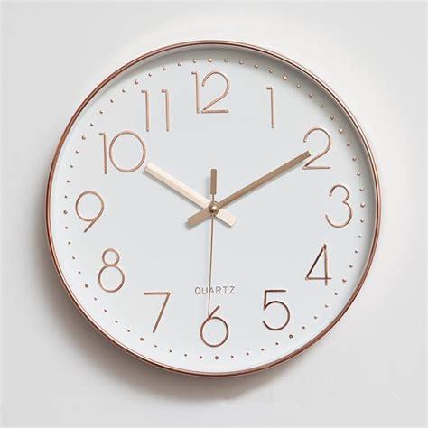 Charming Best Quality Wall Clocks #1: BQ2876-Modern-Minimalist-Clock-Themes-Quartz-Mute.jpg
