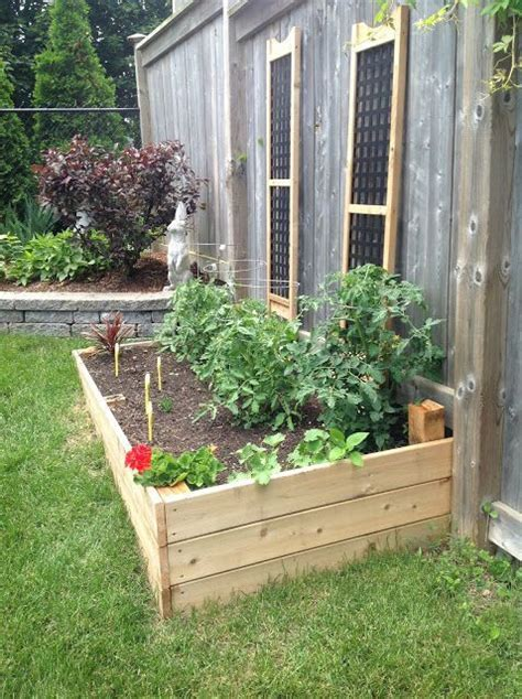 raised vegetable garden beds diy