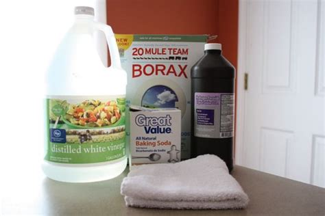 borax bathroom cleaner the borax baking soda and peroxide i use mostly in the
