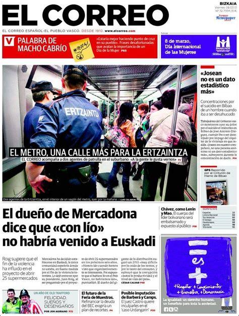 diario el correo noticias de pasco mejores 25 im 225 genes de 8 marzo 2013 principales portadas