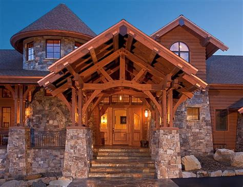 a frame post and beam house plans cottage house plans