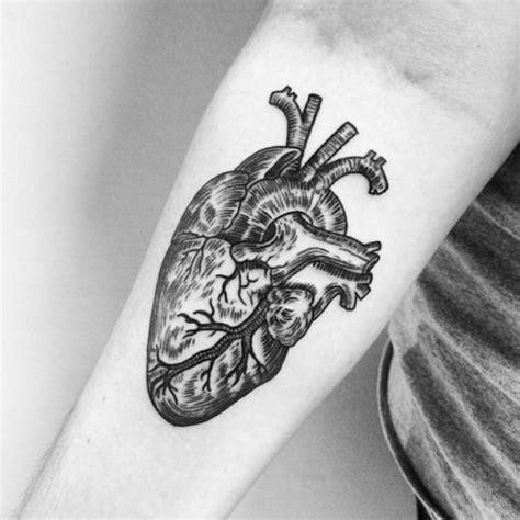 tattooed heart tumblr anatomical heart tattoo google search tattoos
