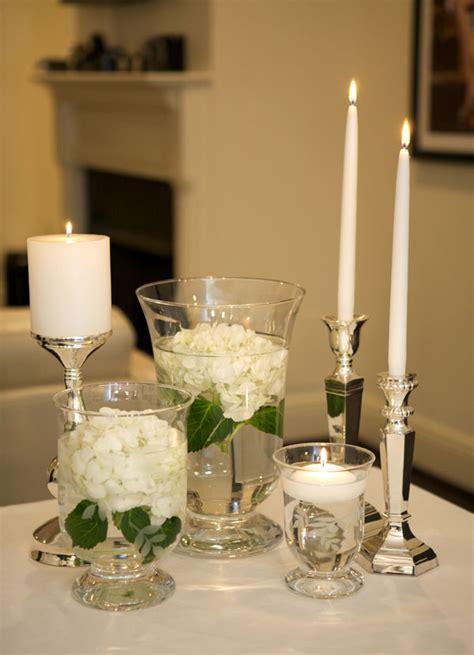 Hurricane Glass Vase Centerpieces by Wedding Centrepieces Deco On Wedding