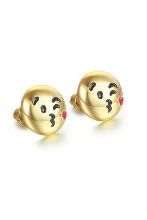 emoji earrings passiana kiss emoji earrings from manhattan by 6th borough