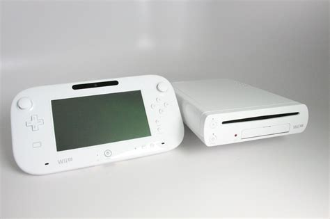 wii u white console new nintendo wii u console 8gb basic set white ebay
