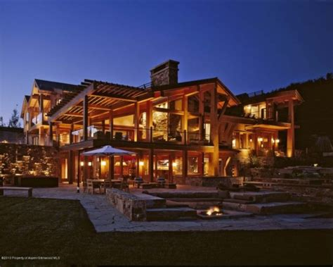 log home mansions colorado lucky break pinterest alaska cabin and log
