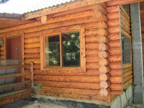 choosing the best log home stain