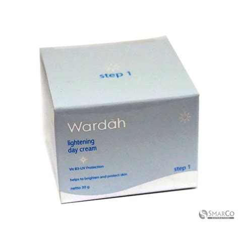 Wardah Day detil produk wardah lightening day step 1 30 gr