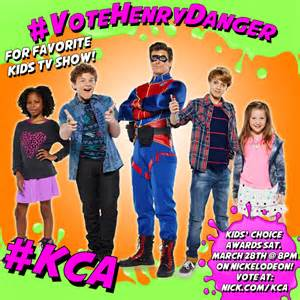Vote for henry danger to win the favorite kids tv show kids choice