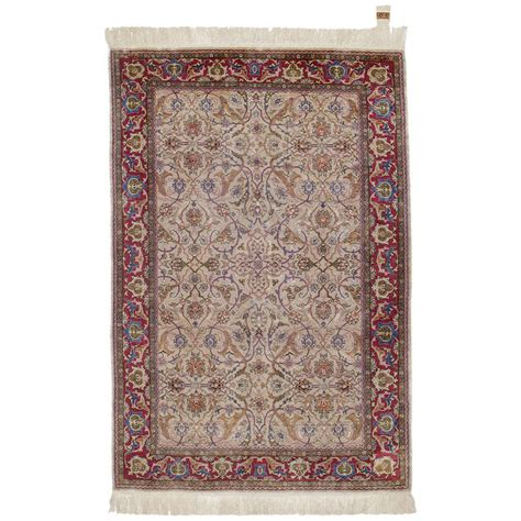 hereke rugs silk hereke rug for sale at 1stdibs
