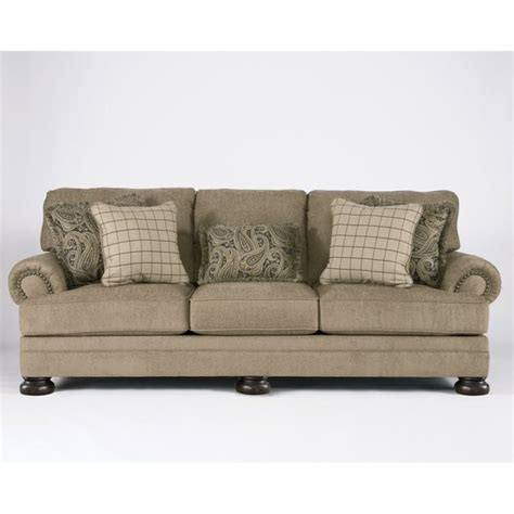 ashley fabric sofa ashley keereel fabric sofa in sand 3820038