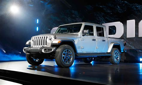 How Much Will The 2020 Jeep Gladiator Cost by Jeep Uncovers New Brand At L A Auto Show With
