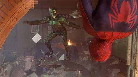 spiderman vs goblin film ita sam raimi s spider man almost had a much better green