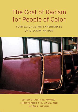 the cost of racism for people of color: contextualizing