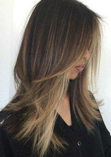 15 best ideas of long straight hairstyles without bangs best 25 long choppy hairstyles ideas on pinterest