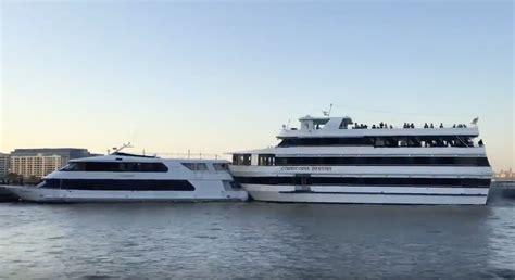 boat crash prom incident video party boat hosting senior prom crashes