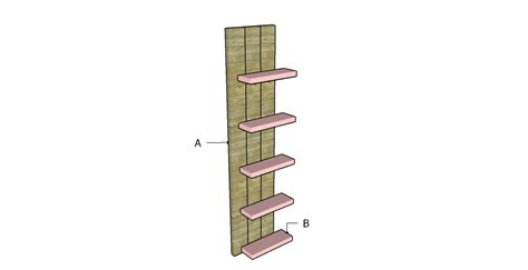 how to build wall shelves myoutdoorplans free