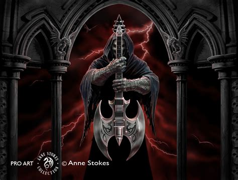 anne stokes rock god rgasw001