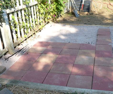 Easy Lay Patio by Ideas Design For Diy Paver Patio 17779