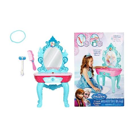 Frozen Vanity disney frozen kingdom vanity jakks pacific frozen playsets at entertainment earth
