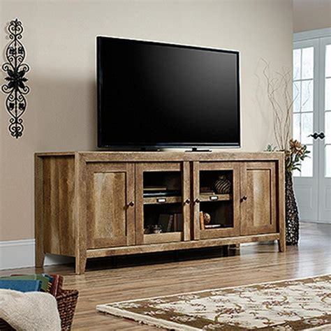 entertainment center sauder dakota craftsman oak entertainment center 420408