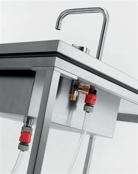 outdoor k che mit waschbecken outdoor modulares k 252 chen system viteo f 252 r ihren