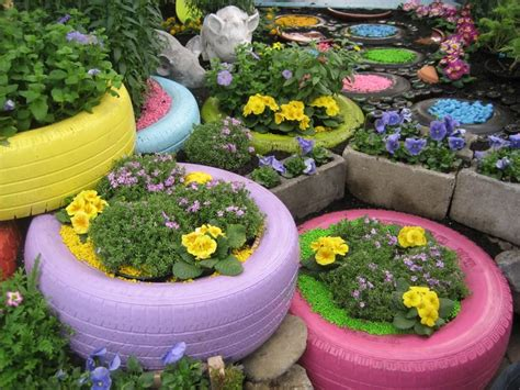 tire flower beds 13 best tire flower garden images on pinterest flower