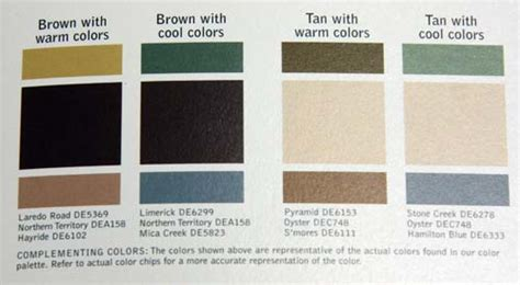 dunn edwards exterior paint color schemes brown hairs