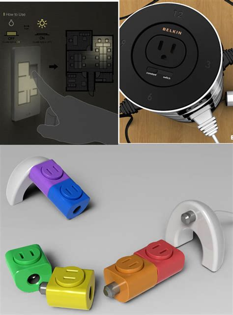 19 innovative and cool electrical outlets sockets and