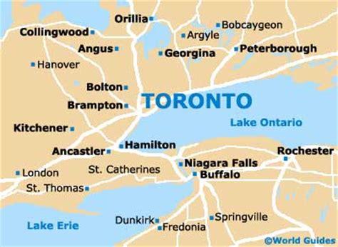 canadian map toronto toronto maps and orientation toronto ontario on canada