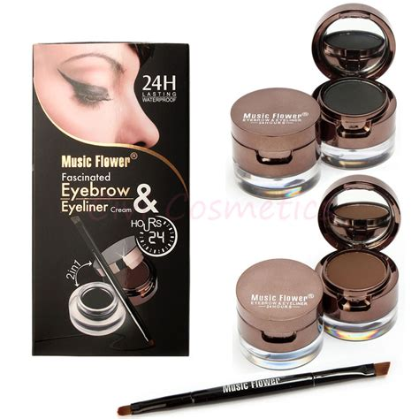 Flower Eyeliner Powder Brown liquid eyebrows reviews shopping reviews on