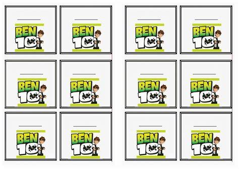 Ben 10 Name Tags ? Birthday Printable