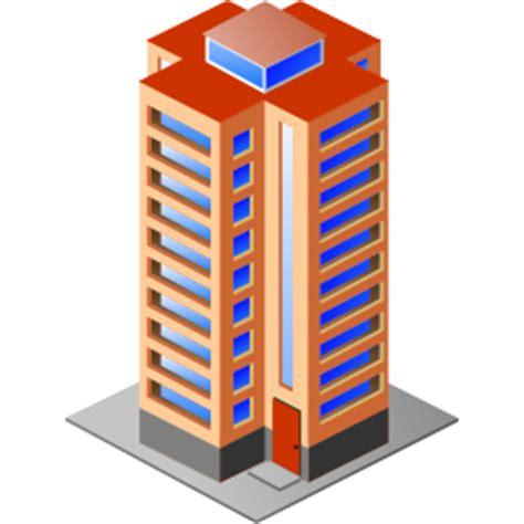 Icones Immeuble, images Batiment à étage png et ico