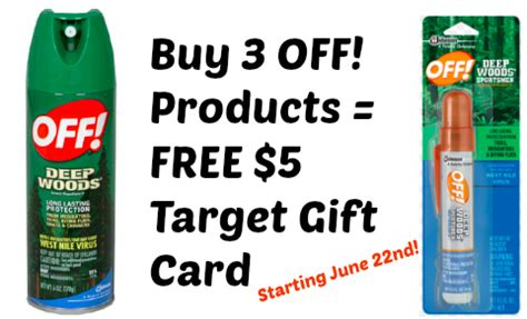 buy printable gift cards online target buy any 3 off products free 5 gift card