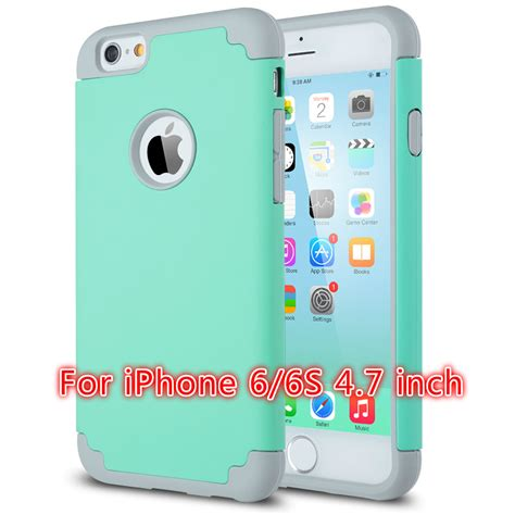 Casing Iphone Iphone Iphone 5 Iphone 6 Iphone 6 Plus ulak slim hybrid dual layer color silicone for