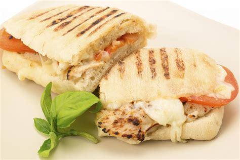 Easy Diy Projects For Home Decor by Chicken And Mozzarella Panini Recipe