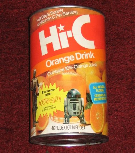 hi can hi c label orange star wars collectors archive