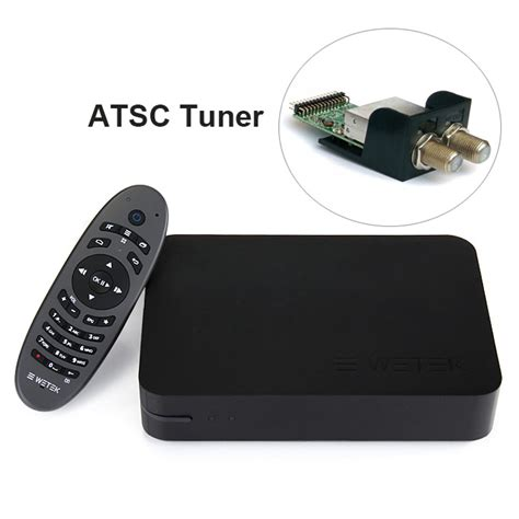 Tv Tuner Android Kodi wetek play android live tv box with atsc tunner
