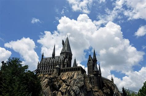 stock photo  castle harry potter hogwarts