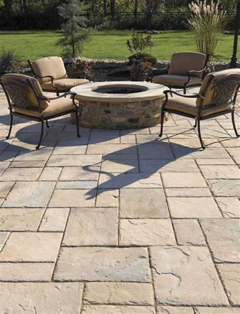 Paver Patio Design Techo Bloc 174 Design Ideas