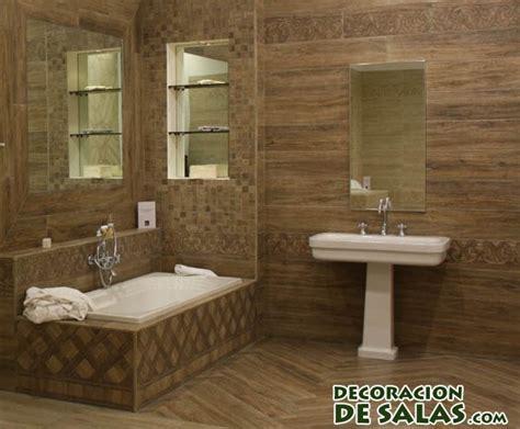 Bathrooms Tiling Ideas by Paredes De Madera Para Ba 241 Os Modernos