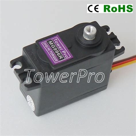 mg996r robot servo 360 176 rotation tower pro