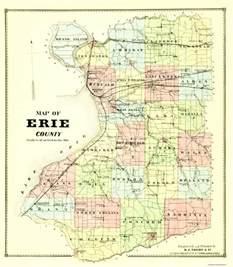erie colorado map county map erie new york 1880 23 x 26 25 ebay
