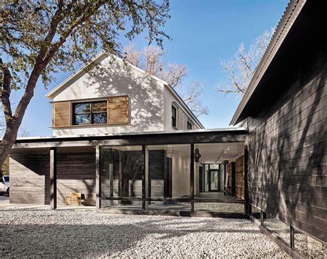 prefab modern farmhouse this home in texas has a contemporary farmhouse feel to it